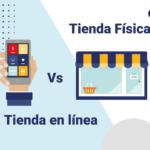 Página web, celular ecommerce vs tienda física ando marketing
